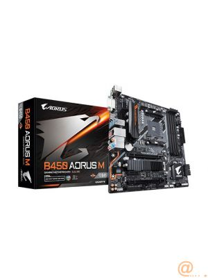 PLACA BASE GIGABYTE B450 AORUS M AM4 MATX 4XDDR4