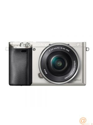Camera E-mount A6000 HD 24mp SILVER