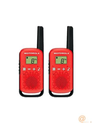 WALKIE TALKIES MOTOROLA T42 RED