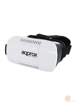 GAFAS DE REALIDAD VIRTUAL APPROX APPVR01 - SMARTPHONES MÓVILES COMPATIBLES 3.5-6''/8.8-15.2CM - DISTANCIA FOCO/PUPILA AJUSTABLES