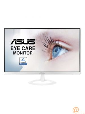 MONITOR LED ASUS VZ279HE-W BLANCO - 27''/68.6CM - 1920*1080 FULL HD - 5MS - 250CD/M2 - 178/178º - TAMAÑO PIXEL 0.311 - VGA - 2*HDMI - SIN PARPADEOS