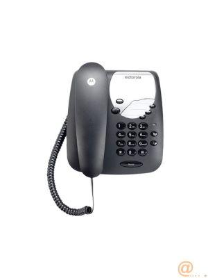 TELEFONO CON CABLE MOTOROLA CT1  NEGRO TELF. CON CABLE MOTOROLA CT1  NEGRO NO DISPLAY RELLAMADA FUNCIÓN MUTE  TECLAS MEMORIA 107CT1BLACK