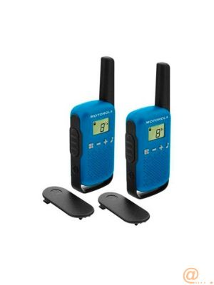 WALKIE TALKIES MOTOROLA T42 BLUE