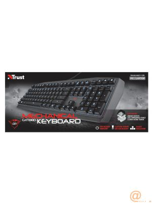 Trust GXT 880 - Teclado mecánico Gaming
