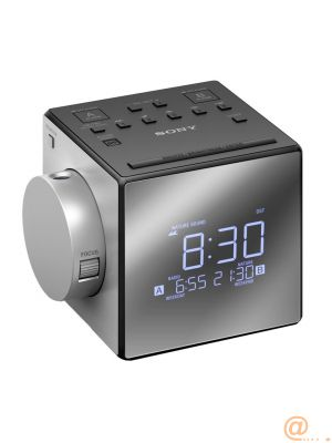 Clock Radio w time projection
