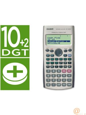 CALCULADORA CASIO FC-100 V FINANCIERA