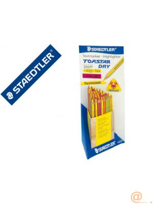LAPICES FLUORESCENTE STAEDTLER TOP STAR -EXPOSITOR DE 48 COLORES