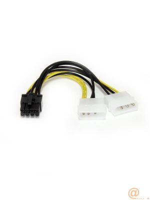 CABLE 15CM ADAPTADOR LP4 A PCI CABLEXPRESS 8 PIN TARJETA GRAFICA