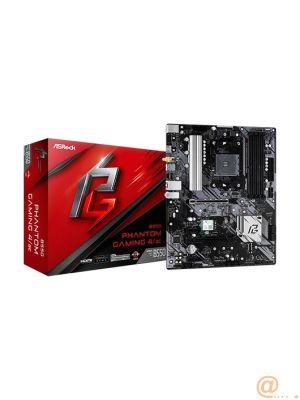 PLACA ASROCK B550 PHANTOM GAMING 4/AC,AMD,AM4,B550,GBLAN+WIFI+BT5.1,ATX