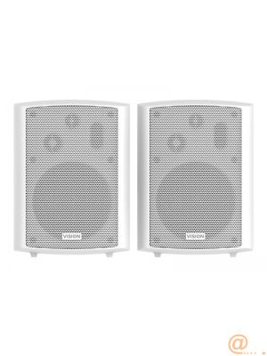 VISION 5.25'' Pair White Wall Speakers