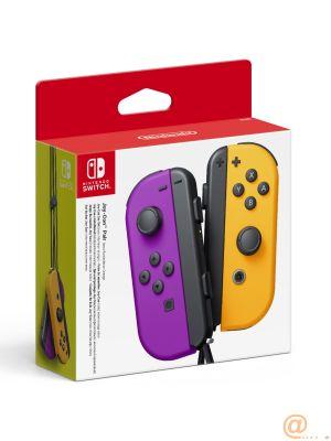 Accesorio nintendo switch -  mando joy - con morado neon - naranja