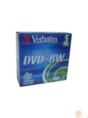 DVD-RW 4.7GB 4X SILVER