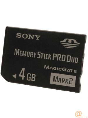 4GB MS PRO DUO MARK2     EXT