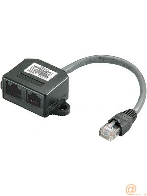 MICROCONNECT Y-ADAPTER RJ45