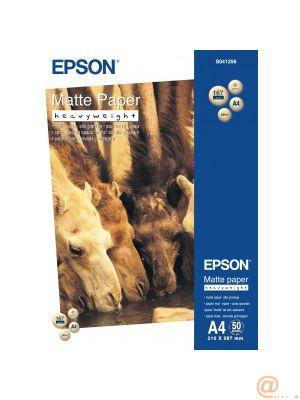 Epson - Mate - A4 (210 x 297 mm) - 167 g/m² - 50 hoja(s) papel - para EcoTank ET-16500, L385, Expression Premium XP-540, 900, SureColor P800, SC-P5000