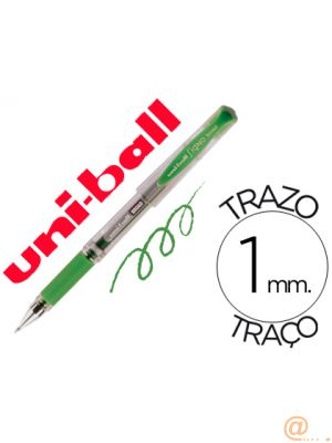 BOLIGRAFO UNI-BALL UM-153 SIGNO BROAD VERDE 1 MM TINTA GEL