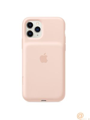 Apple iPhone 11 Pro Max Smart Battery Case with Wireless Charging - Pink Sand