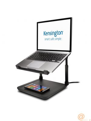 SmartFit Laptop Riser with Charging Pa
