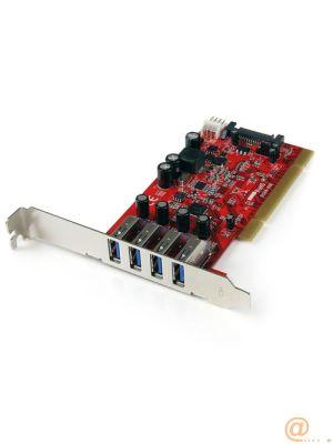 TARJETA PCI 4 PUERTOS USB 3.0  CARD