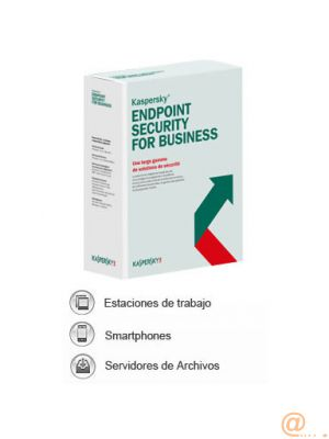 KASPERSKY ENDPOINT SECURITY FOR BUSINESS - SELECT 1 YEAR CG 10-14 **L. ELECTRÓNICA