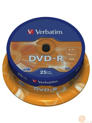 DVD-R X25 SPINDLE