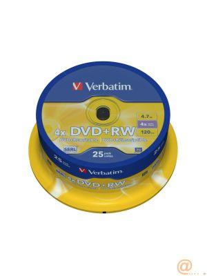 VERBATIM DVD+RW ADVANCED SERL
