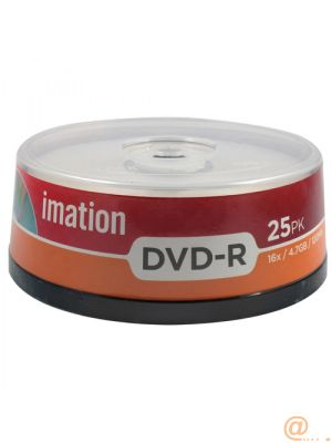 DVD-R 16X 4,7GB 10 PK SPINDLE IMATION