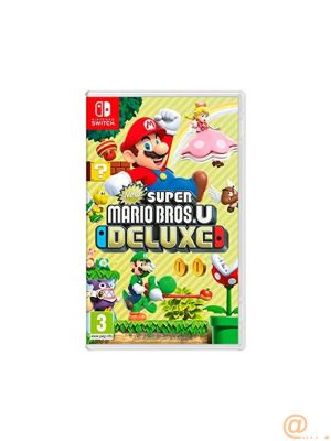 JUEGO NINTENDO SWITCH NEW SUPER MARIO U DELUXE