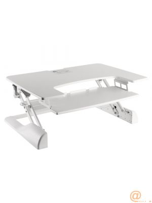 NS-WS100WHITE stand-sit workstand