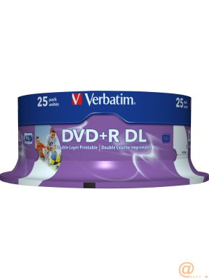 DVD+R DOUBLE LAYER 8X 8.5GB
