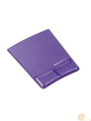 FELLOWES Alfombrilla con reposamuñecas gel Violeta Canal Health-V