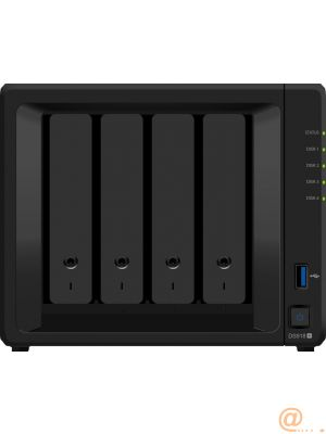 DS918+ 4BAY 1.5 GHZ QC 2X GBE  EXT