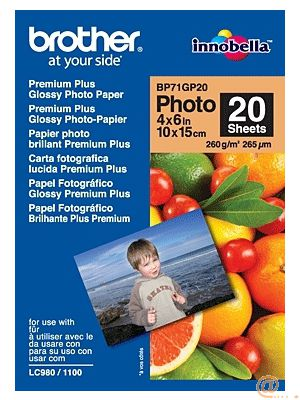 BROTHER PAPEL GLOSSY 10X15