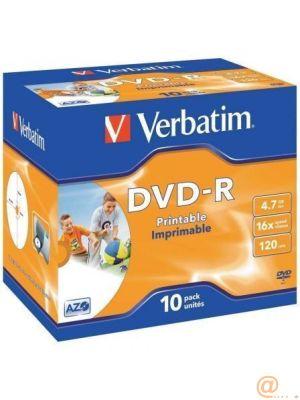 DVD-R X10 4.7GB 16X/INKJET