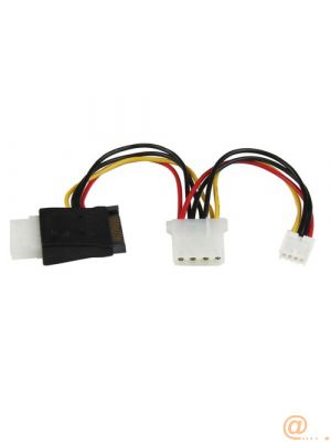 ADAPTADOR DE CABLE LP4 A SATA CABLCONECTOR SP4
