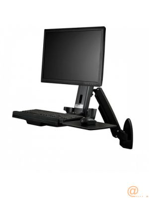 WALL MOUNTED SIT STAND DESK FORWALL