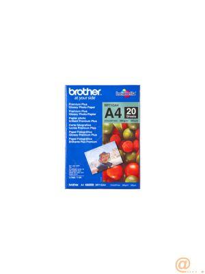 Brother Innobella Premium Plus BP71GA4 - Brillante - A4 (210 x 297 mm) - 260g/m² - 20 hoja(s) papel fotográfico brillante - para Brother DCP-J572, J772, J774, J973, MFC-J6580, J6995, J837, J890, J893, J895, J907, J997