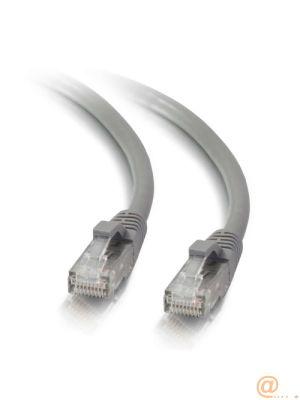 Cbl/2M Mlded/Btd Grey Cat5E PVC UTP PAT