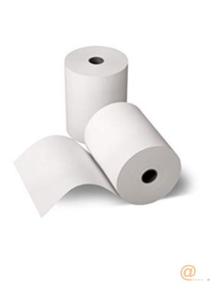(30) Receipt, Paper, 75.4mmx14.6m, Direct Thermal Z-Perform 1000D 80 Receipt, Uncoated, 19mm Core