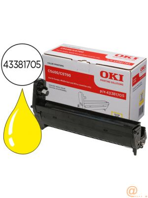 OKI OPC C5600/5700 AMARILLO