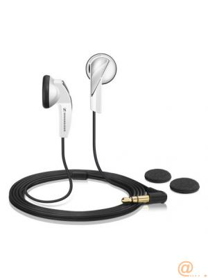 MX 365 white intra auricular stereo