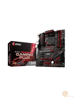 MSI Placa Base B450 GAMING PLUS ATX AM4