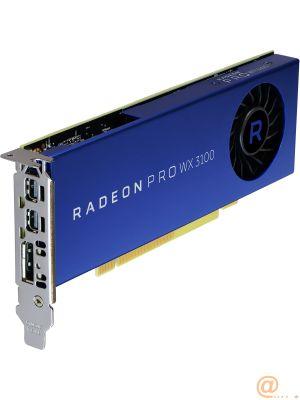 Radeon Pro WX 3100 4GB GDDR5 2-mDP+1-DP