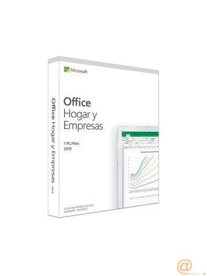 Office Hogar y Empresas 2019. Español. Todas las aplicaciones de Office 2019 para 1 PC
