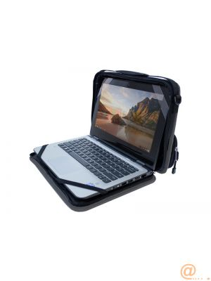 Utility Chromebook Case 11'' Pocket BK/GY