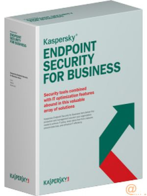 KASPERSKY ENDPOINT SECURITY FOR BUSINESS - SELECT  25-49 NODE  1 AÑO **L. ELECTRÓNICA