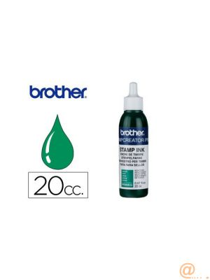 Ink re-inking green 12 units 20cc