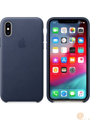 IPHONE XS LEATHER CASE   ACCS