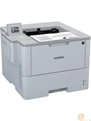 Brother Impresora Laser monocromo HLL6300DW,duplex automatico,red cableada y WiFi, Bandeja 520 hojas - 46 ppm - Conexion movil,2 años.