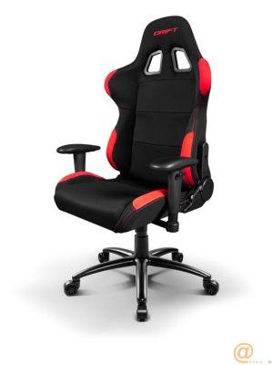 Reposabrazos ajustable 2D  Configura tu silla para largas partidas sin preocuparte de nada más. Los reposabrazos de la DR100 son ajustables en altura y posición.  Materiales premium  Un buen acabado c